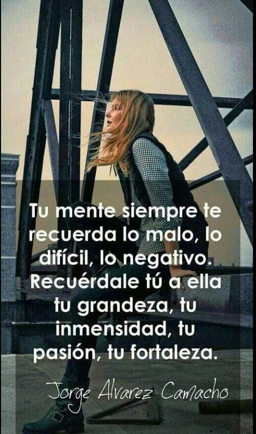 Recuerdale tu a ella... | Lovely Quotes!