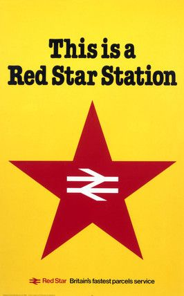 'This is a Red Star Station', BR (NER) poster, 1983.