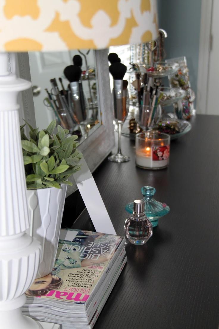 Make Up Vanity Table At Home Vanity Room Beauty Room