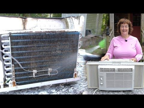 http://beckyshomestead.com/how-to-clean-a-window-air-conditioner Becky shows you how to take apart and clean your window air conditioner. Then she shows you ...