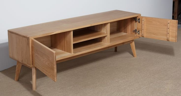Japanese style solid wood tv cabinet coffee table cabinet white oak tv cabinet all solid wood furniture brief-inWood Cabinets from Furniture on Aliexpress.com