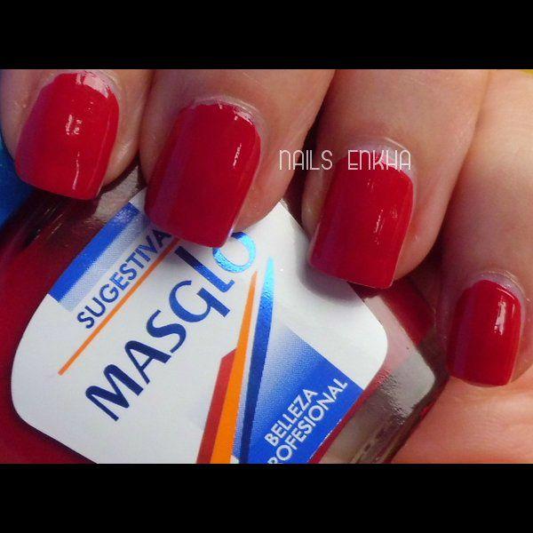 Masglo Sugestiva #masglo #red #nails #notd #manicure #nailart #polish #nailspolish #nailartadict #cutepolish #cool #fashion #nailideas #manicura #esmalte #uñas #unhas #blog #blogguer #blogasturias #bloggerasturias #beauty #beautyblog