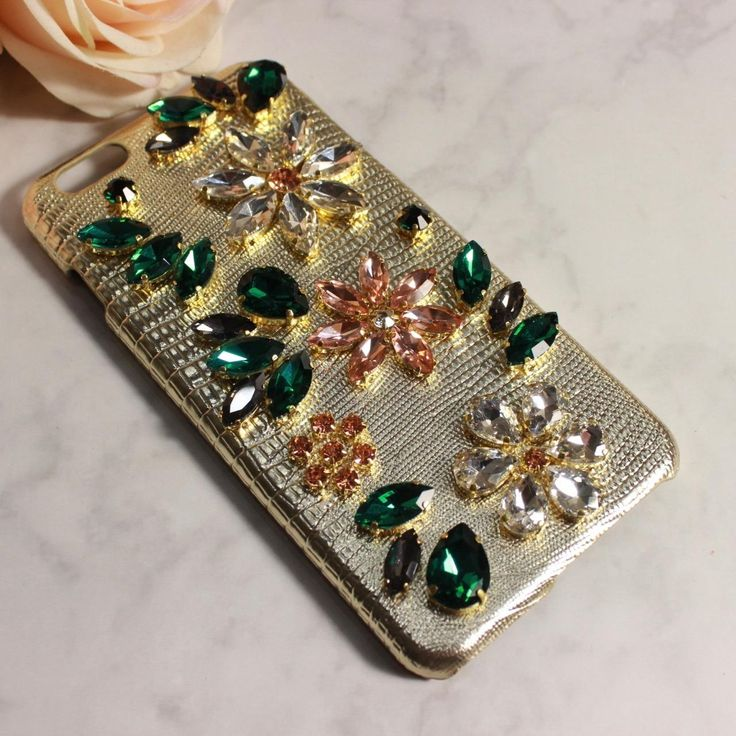 Classy Apple Iphone Cases&Covers With Genuine Leather Bling Bling Czech Crystal/Diamond Charming Gold Color Elegant Best Cell Phone Cases Top Rated Cell Phones From Yamazhouzhe, $30.37| Dhgate.Com