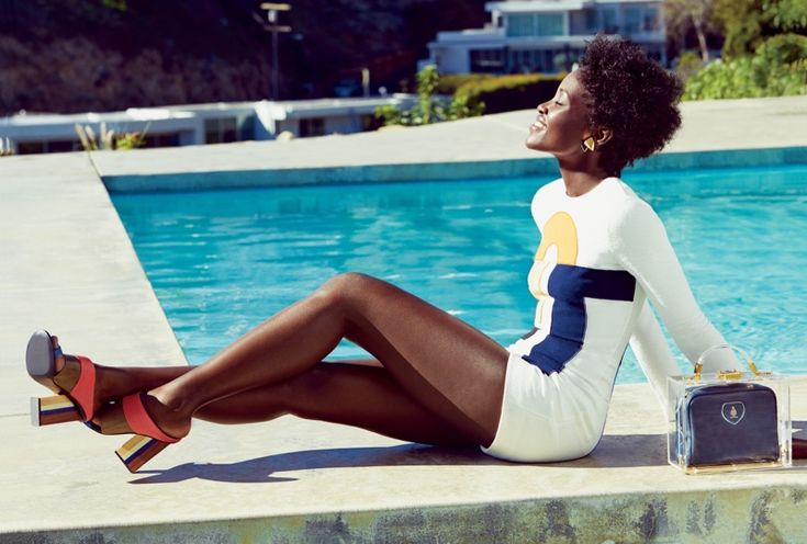 Lucky Magazine March 2015 Cover | Lupita Nyong'o Covers Lucky Magazine, Says Fame is 'Awkward'