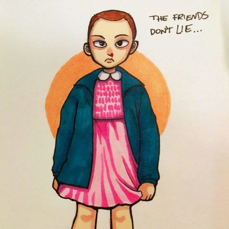Eleven, strangers things
