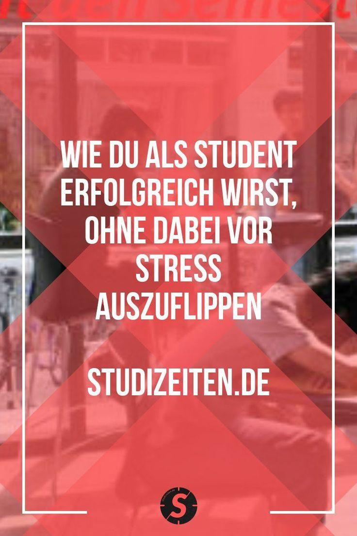 Wie du als Student ohne Stress erfolgreich wirst
