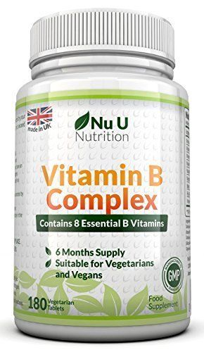 Vitamin B Complex 180 tablets (6 month supply) – 100% MONEY BACK GUARANTEE – Contains all Eight B Vitamins in 1 Tablet, Vitamins B1, B2, B3, B5, B6, B12, D-Biotin & Folic Acid - http://vitamins-minerals-supplements.co.uk/product/vitamin-b-complex-180-tablets-6-month-supply-100-money-back-guarantee-contains-all-eight-b-vitamins-in-1-tablet-vitamins-b1-b2-b3-b5-b6-b12-d-biotin-folic-acid/