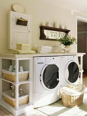 Uploaded with Pinterest Android app. Get it here: http://bit.ly/w38r4m: Spaces, Dreams Laundry Rooms, Countertops, Washer And Dryer, Shelves, Laundry Area, Wash Machine, Rooms Ideas, House