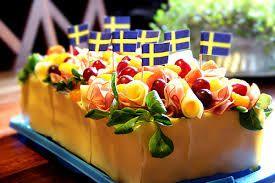 ost och skinka smörgåstårta - Google Search