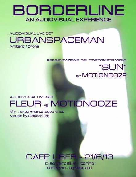 Stasera, Café Liber ore 22,30, presentazione del cortometraggio SUN by motionooze. Musica dal vivo con proiezioni video!!!!