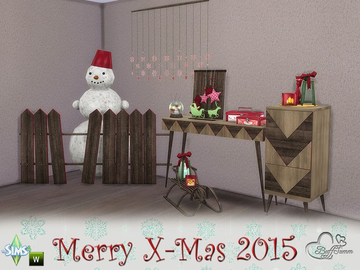 May this holiday season sparkle and shine, may all of your wishes and dreams come true, and may you feel this happiness all year round.  Found in TSR Category 'Sims 4 Decorative Sets'