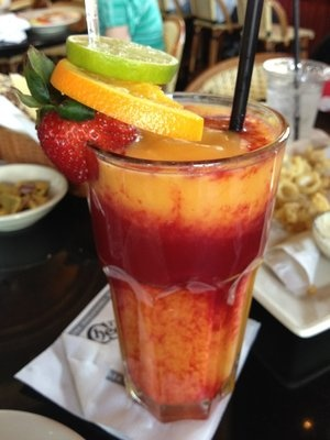 Frozen mango drink