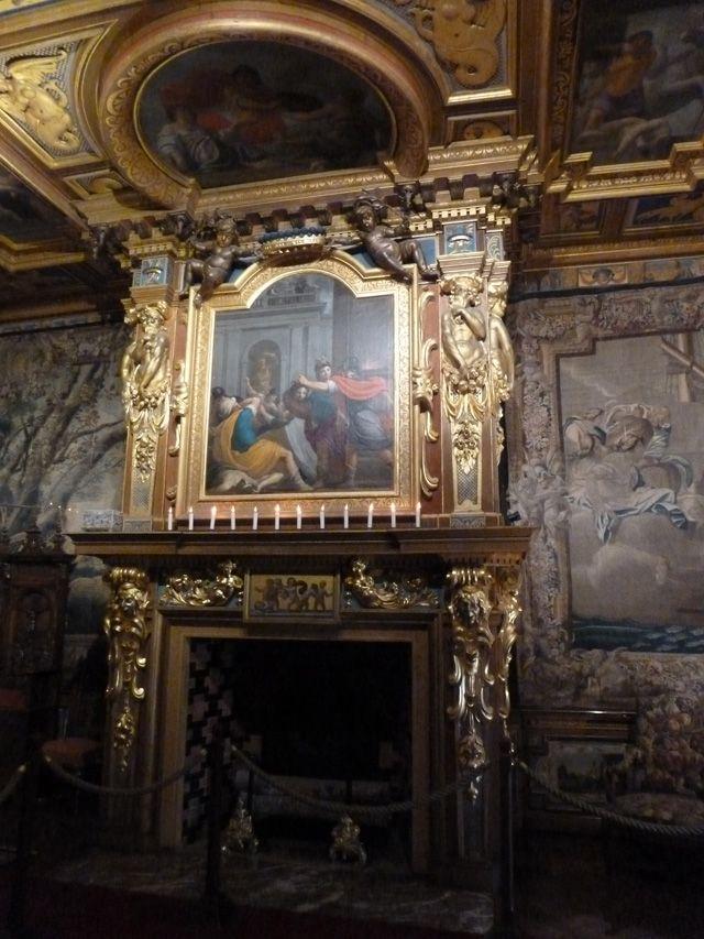 Chateau de cheverny interior images cheminee de la for L aventure interieur