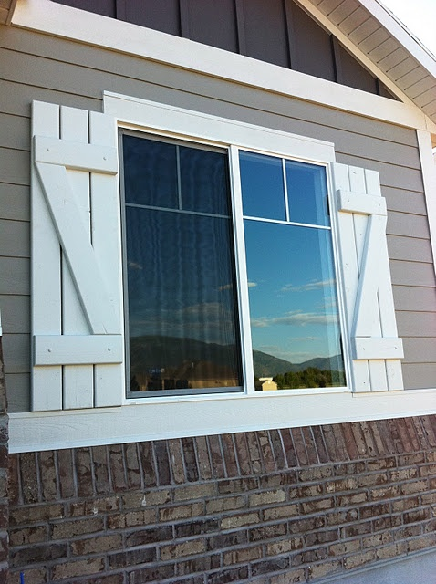 63 Best Rustic Exterior Shutters Images On Pinterest