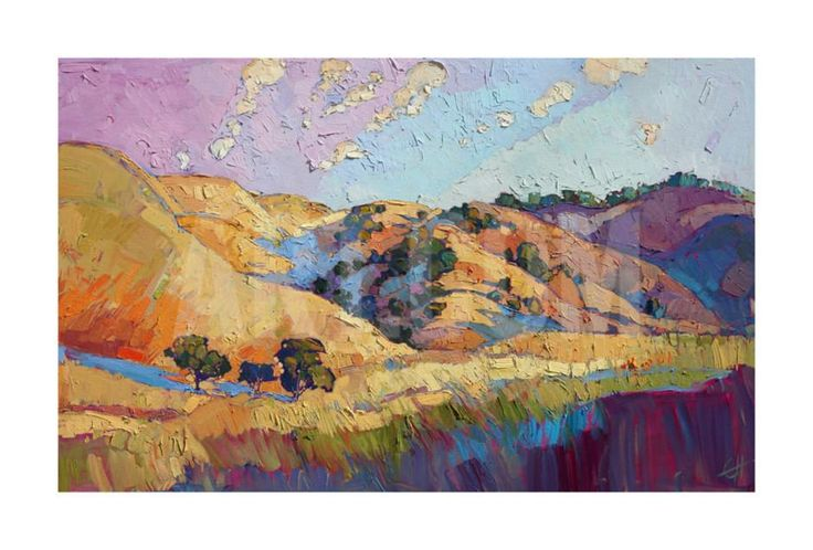 Color Lush Giclee Print by Erin Hanson at Art.com