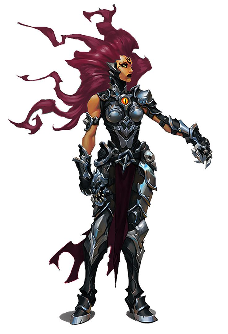 Fury from Darksiders III