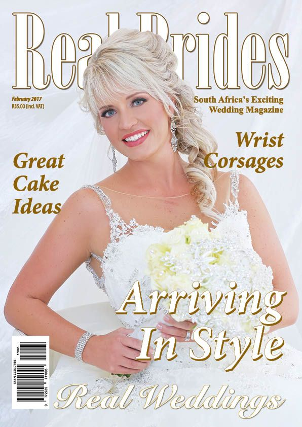 Chez Charlene 5 Star Wedding Venue - Pretoria East - Gauteng - www.chezcharlene.co.za - Real Brides Cover February 2017