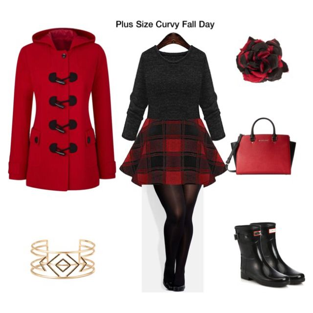 Plus Size Curvy Fall Day