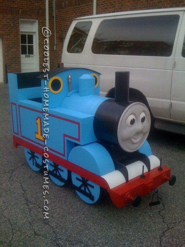 The 25 best train costume ideas on pinterest thomas costume epic thomas the train halloween costume solutioingenieria Choice Image