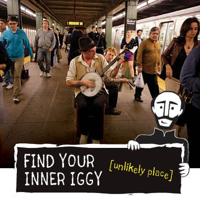 Where have you found God in an unlikely place? Show us! Tag a pin with #FindIggy, and you could win some cool stuff!