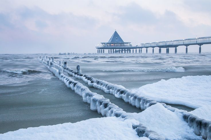 Icy Pier by Andreas Dumke on 500px