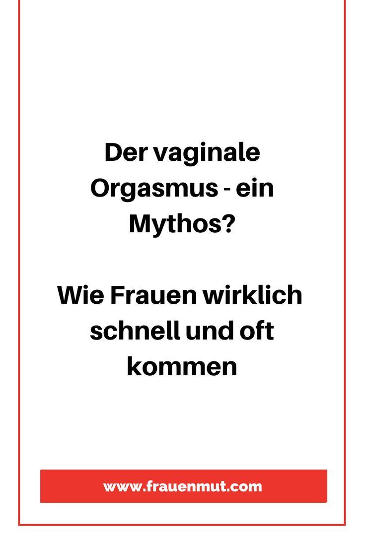 Weiblicher vaginaler Orgasmus