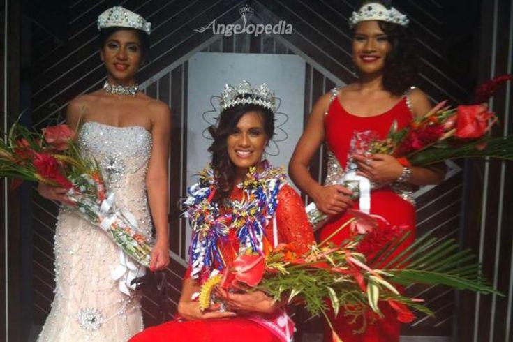 Brittany Hazelman crowned Miss World Fiji 2015