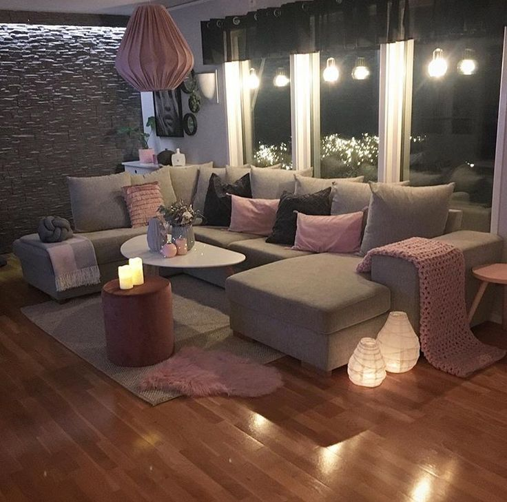 46 Cozy Living Room Ideas And Designs For 2019: Love The Pop Of Color - #color - #Genel