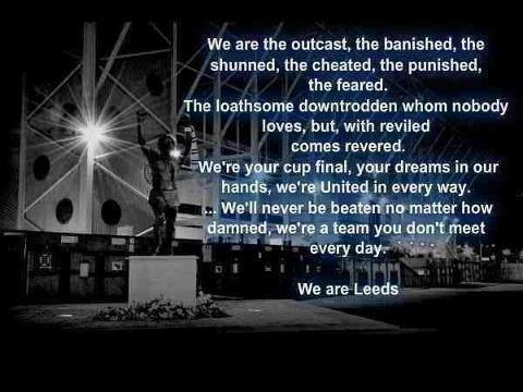 We are Leeds United