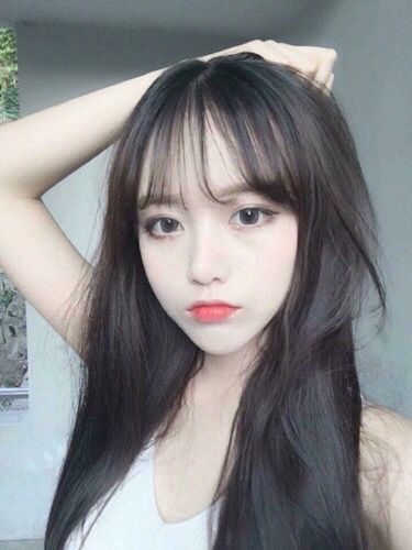 Ulzzang bang fringes