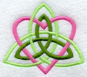 Machine Embroidery Designs at Embroidery Library! - Trinity Heart ...