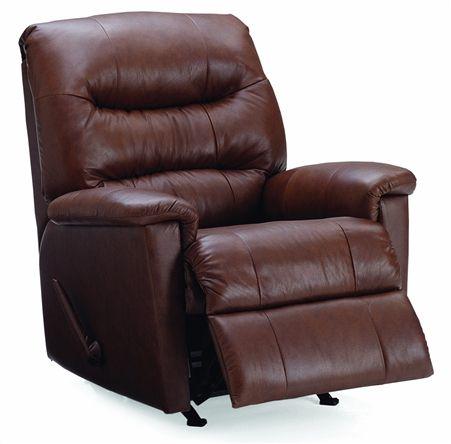 Brown Palliser Kelvin transitional recliner chair.