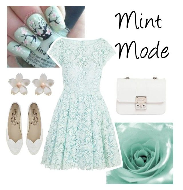 Mint Mode by monique-joanne on Polyvore featuring polyvore, fashion, style, ML Monique Lhuillier, Design Inverso and clothing