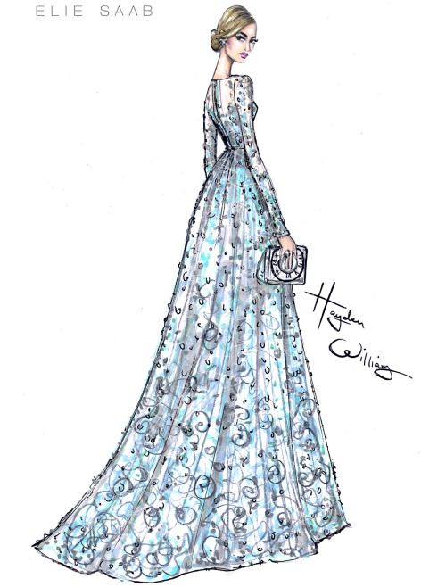 The lovely Lily James wearing Elie Saab couture to the #Cinderella premiere.