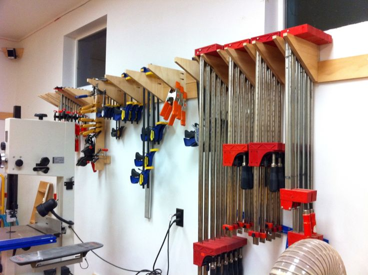 French Cleat Clamp Storage