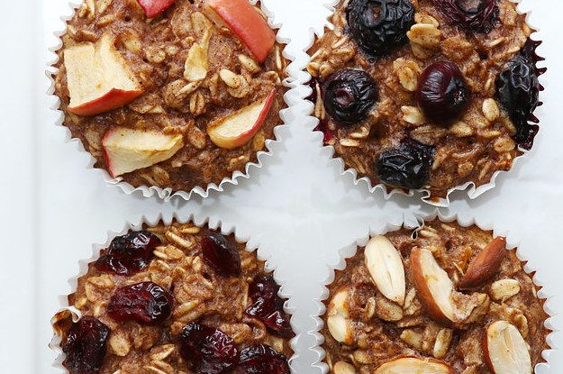 Here's a video showing you how to make them: | These Bite-Sized Banana Oatmeal Muffins Are Perfect For Snack Time