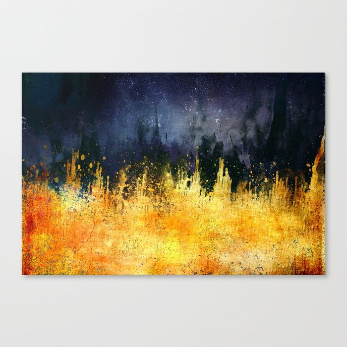 My burning desire Canvas Print by HappyMelvin | Society6