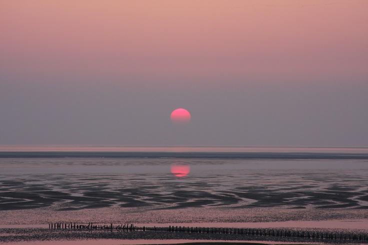 Sunset @ Mandø, Denmark