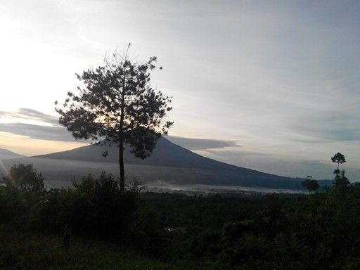 Mt cikuray scenery