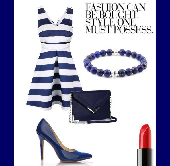 Maronii style :) #maronii#bracelet#silver#natural#stone#lipstick#dress#bag#shoes#modern#style#handmade#2016 www.maronii.cz