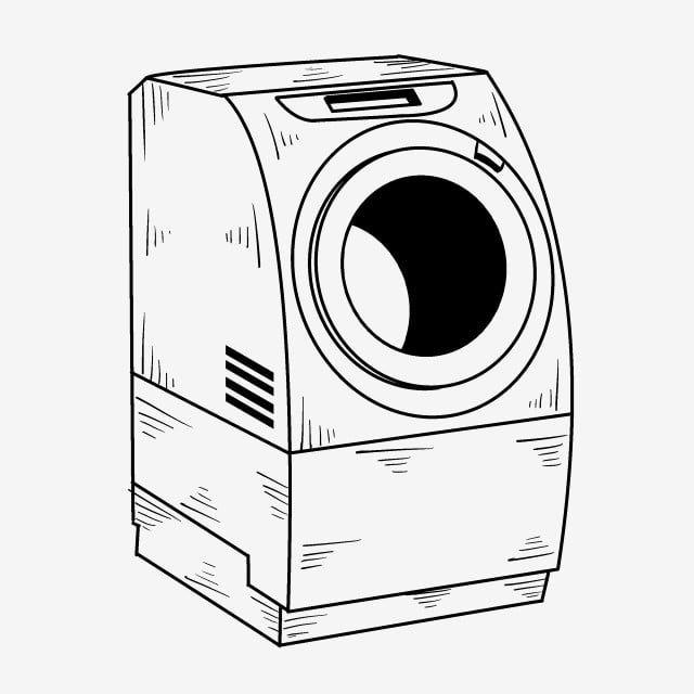 Lavadora De Dibujo Lineal Lavadora Automatica Lavadora Pintada A Mano Lavadora De Dibujos Animados Lavadora Automatica Ilustracion De Lavadora Tridimensional Lavadora Dibujo Dibujo Lineal Lavadora Automatica