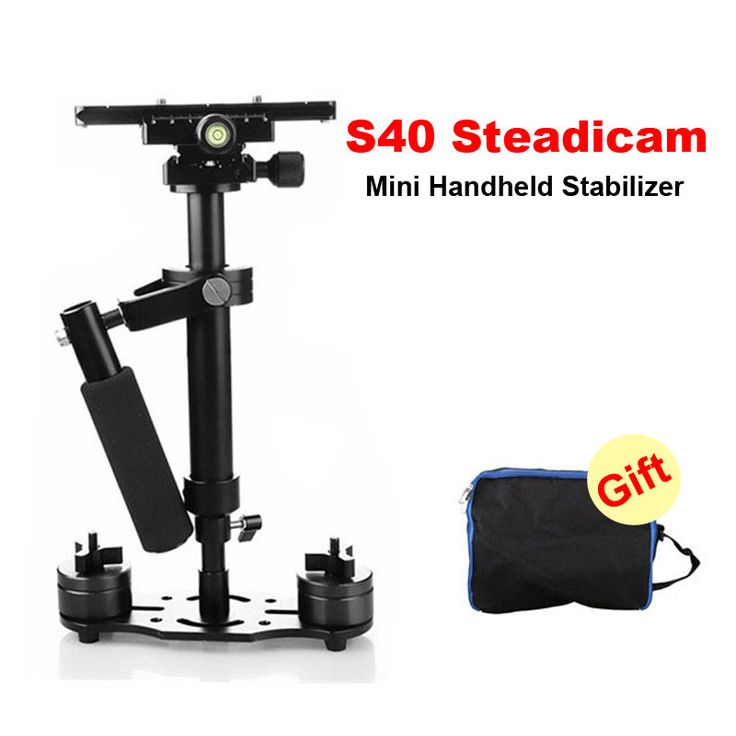 DHL S40 40cm Professional Handheld Stabilizer Steadicam for Camcorder Digital Camera Video Canon Nikon Sony DSLR Mini Steadycam //Price: $86.72      #shopping