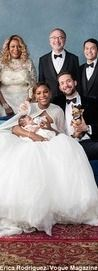 Alexis Olympia Jr. looked adorable as the tennis star's youngest bridesmaid for her wedding to Reddit founder Alexis Ohanian on Thursday.