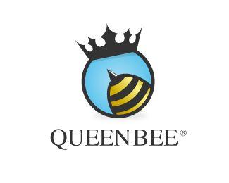 Queen Bee Logo design - Price $300.00