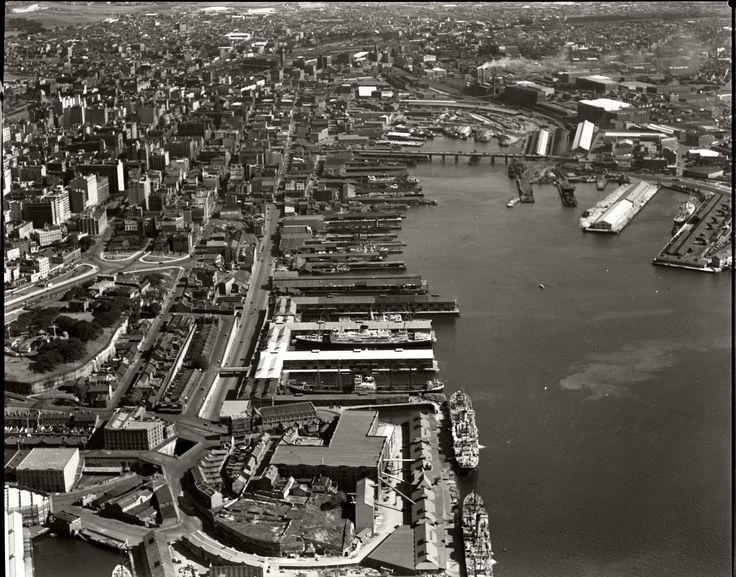 Darling Harbour and Pyrmont Bridge, 26 Nov 1937 | by Royal Australian Historical Society