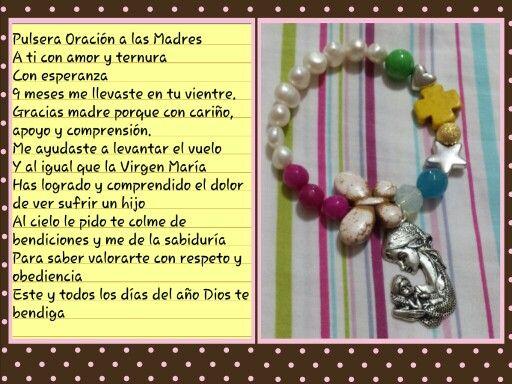 Pulsera Oracion a las Madres