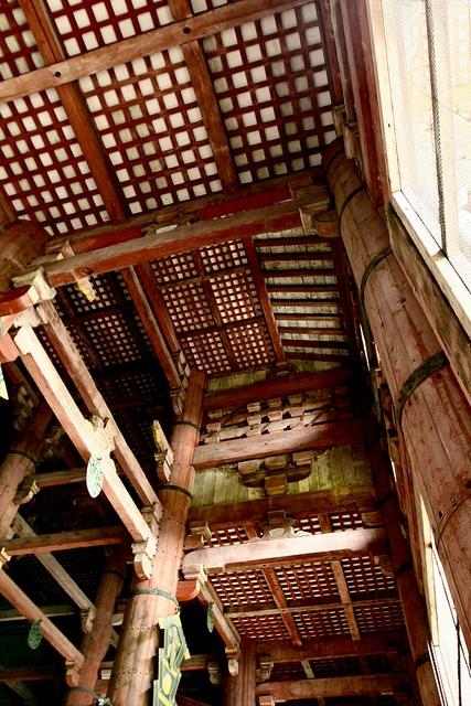 Inside of Todai-ji temple, Nara, Japan