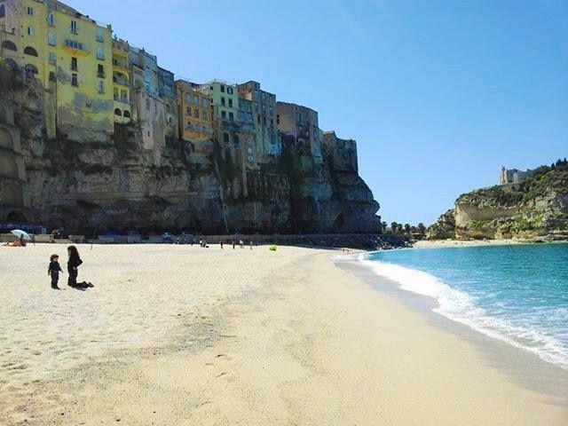 Beach in Tropea, Calabria