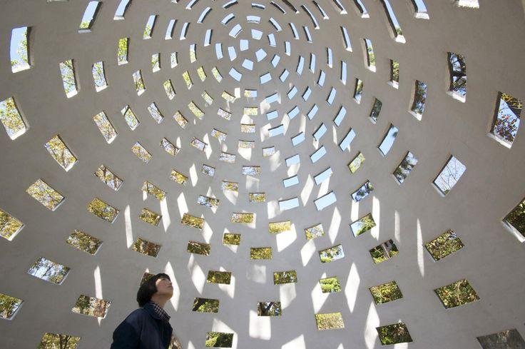Brick-Pod Pavilion / Kazuya Morita Architecture Studio