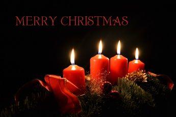 обоя праздничные, новогодние свечи, свечи